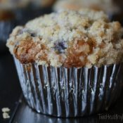 Blueberry-White Chocolate Muffins