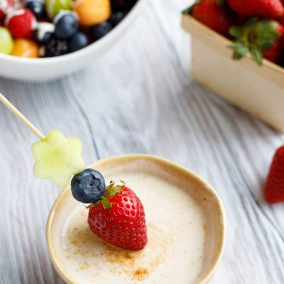 Healthy Sugared-Vanilla Yogurt Fruit Dip