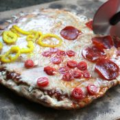Easy Homemade Grilled Pizza