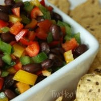 Rainbow Pepper Salsa
