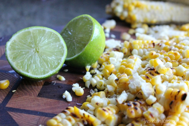 THK Grilled Corn Salad