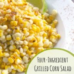 Four-Ingredient Grilled Corn Salad with Nonfat Chili-Lime Dressing