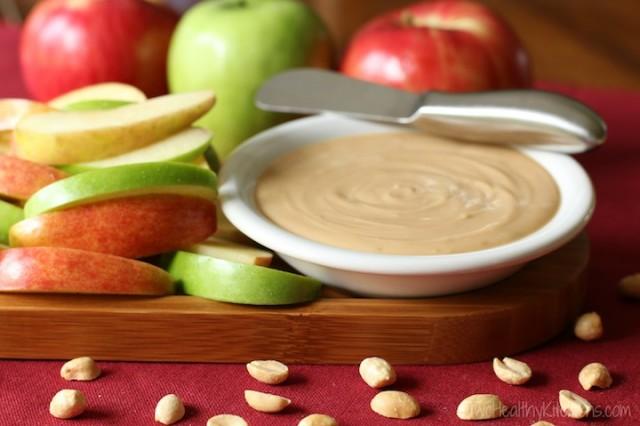 Peanut Butter Silk Pie Dip with Greek Yogurt (Just 4 Ingredi..