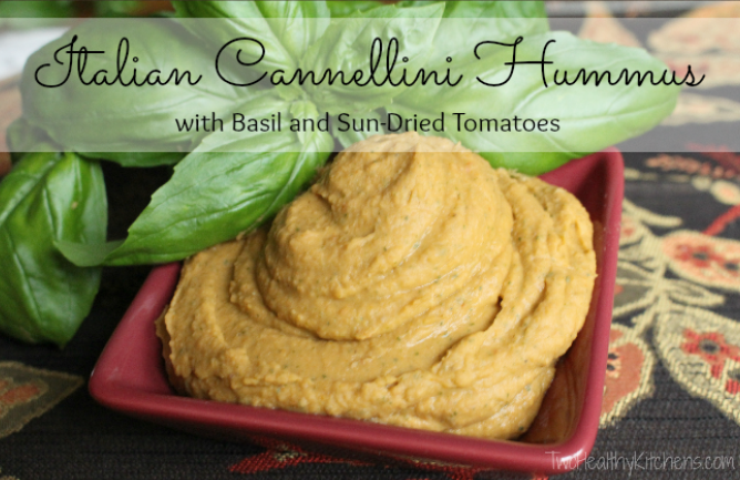 THK Sundried Tomato Hummus Text