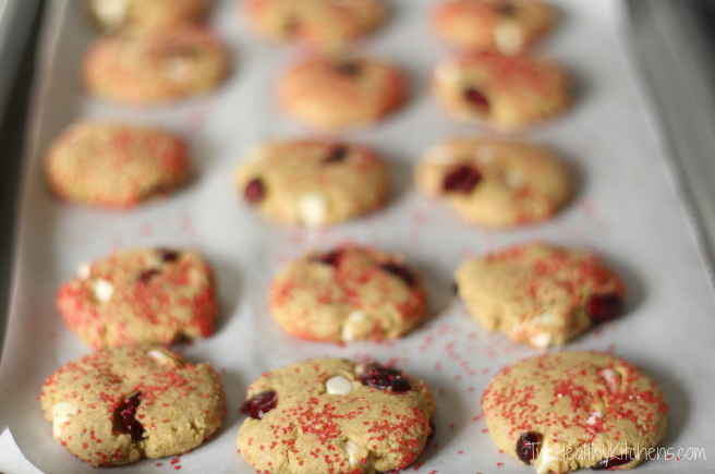 Pistachio White Chocolate No Butter Butter Cookies