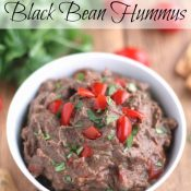 Mexican Fiesta Black Bean Hummus