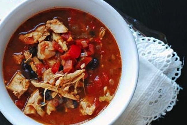 Eat at Home Cooks {Two Healthy Kitchens Top 10 Crock-Pot Chicken Soups and Chili Recipes}