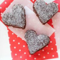 Surprisingly Decadent Brownies (Healthy, Whole Wheat & One Bowl!) ... with Valentine's Day Ideas!