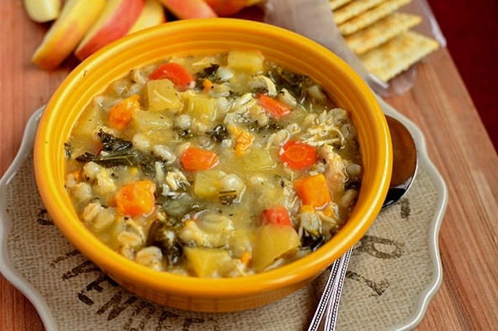 Iowa Girl Eats {Two Healthy Kitchens Top 10 Crock-Pot Chicken Soups and Chili Recipes}
