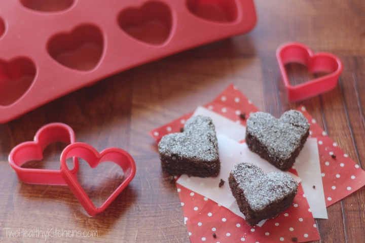 THK Surprisingly Decadent Healthy Whole Wheat Brownies (with Valentine's Day Ideas!) 4