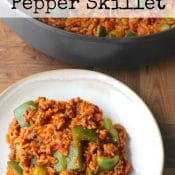 Un-Stuffed Pepper Skillet