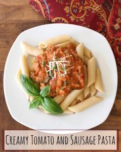 THK Sausage Pasta Text1