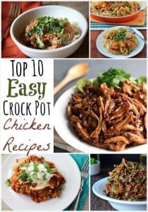 THK Top 10 Crock Pot Chicken Recipes Collage