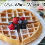 Mom's Best Whole Wheat Waffles