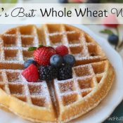 Mom's Best Whole Wheat Waffles