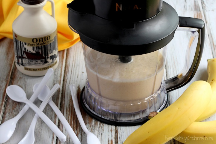"""The Elvis"" Peanut Butter-Banana Smoothie Recipe {TwoHealthyKitchens.com}"