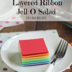 Layered Ribbon Jell-O Salad