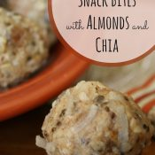 Tropical Snack Bites with Almonds and Chia