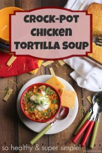 THK Crockpot Chicken Tortilla Soup Text