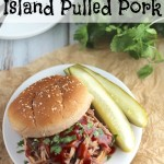 Slow Cooker Island Pulled Pork {Slow Cooker Giveaway!}