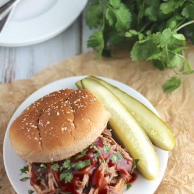 Slow Cooker Island Pulled Pork
