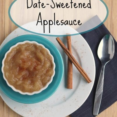 Easy Homemade Applesauce (With a Deliciously Healthy Twist!)