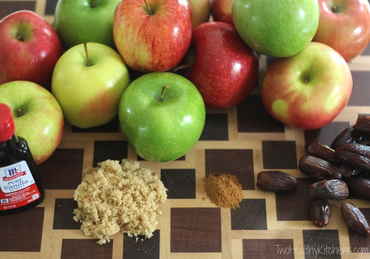 Easy Homemade Applesauce Recipe (With a Deliciously Healthy Twist) {www.TwoHealthyKitchens.com}