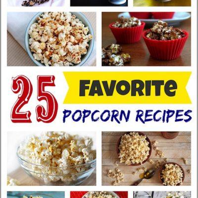 25 Deliciously Healthy Popcorn Recipes