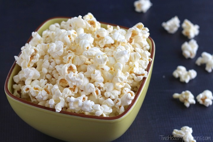 Perfect Microwave Popcorn Recipe Www Twohealthykitchens