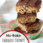 No-Bake Chocolate-Coconut Peanut Butter Bars