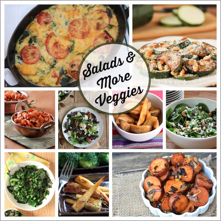 53 Best Thanksgiving Sides Recipes ... Healthy and Delicious! {www.TwoHealthyKitchens.com}