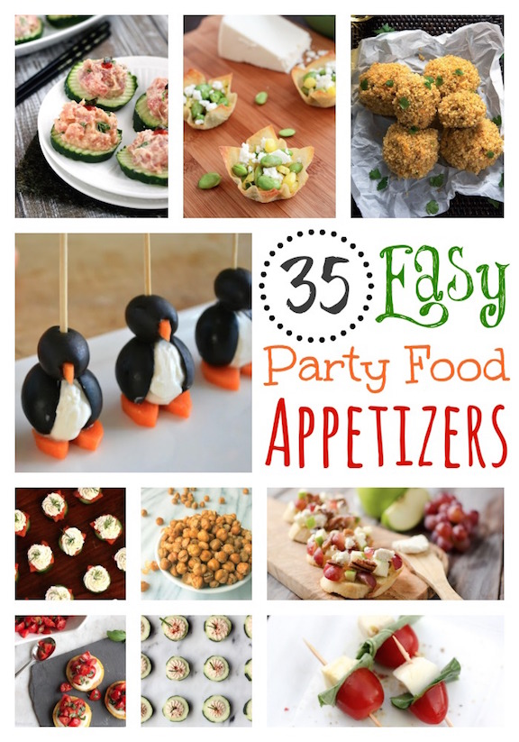 35 Easy Party Food Etizer Recipes Www Twohealthykitchens