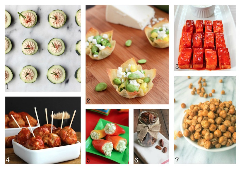 35 Easy Party Food Appetizer Recipes {www.TwoHealthyKitchens.com}