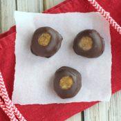 "Chocolate-Covered Peanut Butter Balls (""Buckeyes"")"