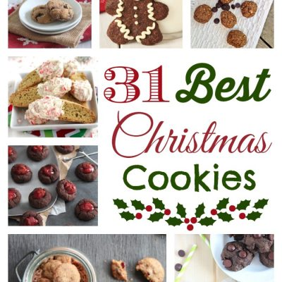 31 Healthier Cookie Recipes (Christmas Cookies That Aren't Just For Christmas!)
