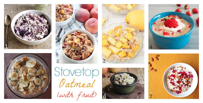 44 Deliciously Warm and Cozy Oatmeal Recipes {www.TwoHealthyKitchens.com}