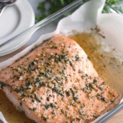 Easy Honey-Glazed Salmon