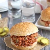 Best Ever Homemade Sloppy Joes