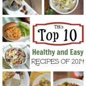 THK's Top 10 Fabulously Healthy, Easy Recipes of 2014
