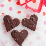 4-Ingredient (No Butter!) Chocolate Fudge with Coconut