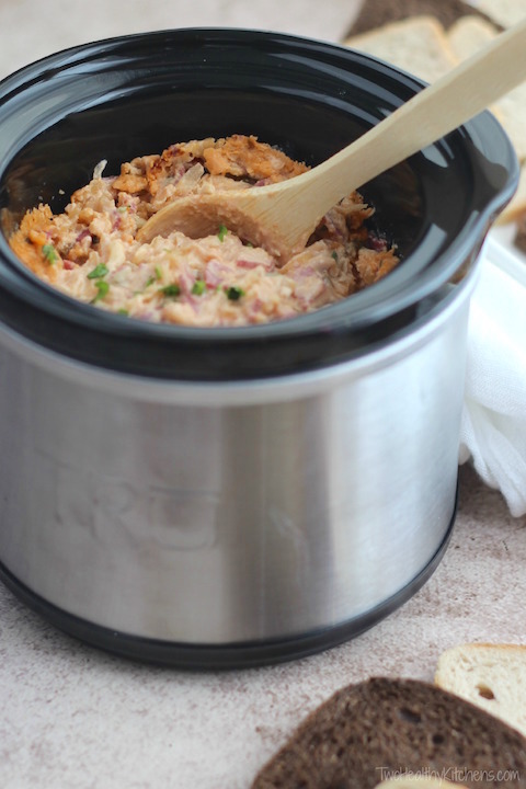 Healthier Reuben Dip Recipe (Oven, Microwave or Crock Pot Appetizer Recipe)