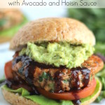 Asian Salmon Burgers with Avocado and Hoisin Sauce (Gluten-Free Option, Too!)