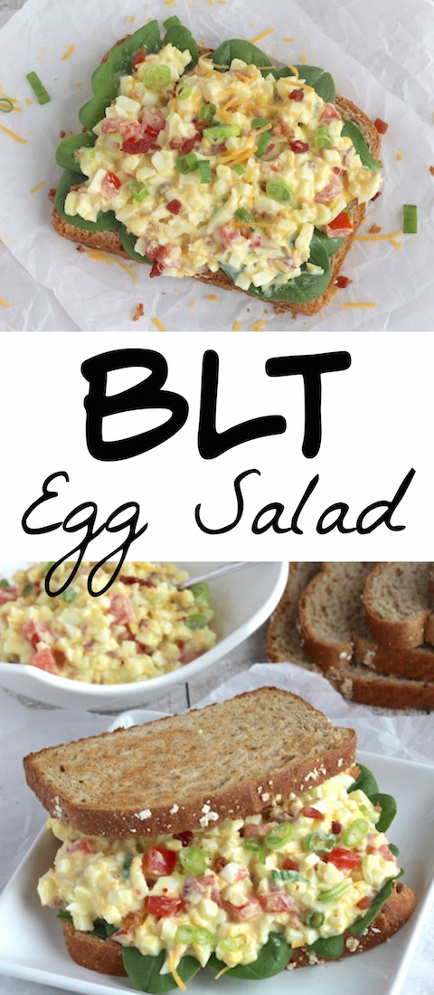 THK BLT Egg Salad Collage
