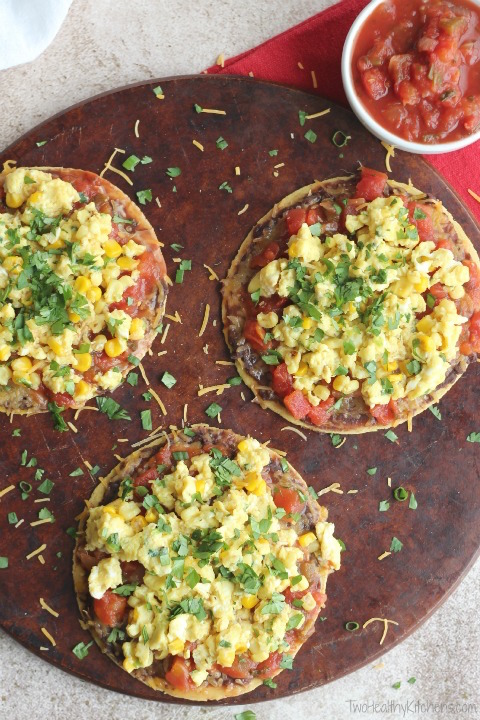 Huevos Rancheros Mexican Breakfast Pizza