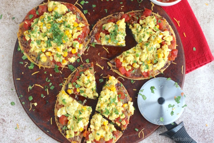 THK Mexican Breakfast Pizza7