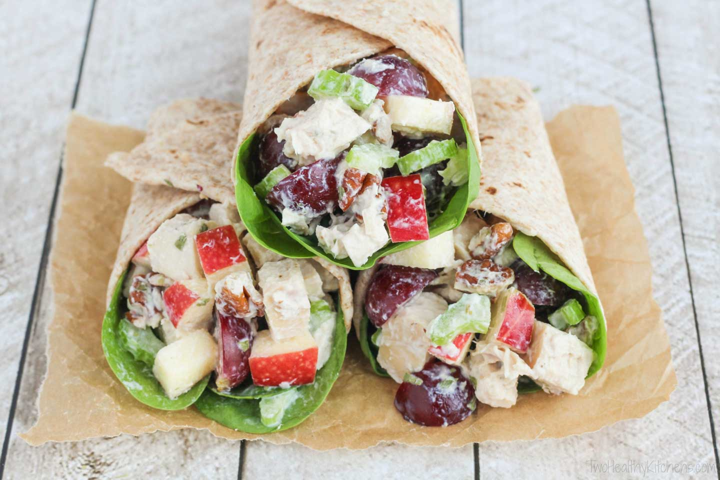 This Greek Yogurt Chicken Salad Recipe Is Absolutely Perfect In Wraps For Weekday Lunches But