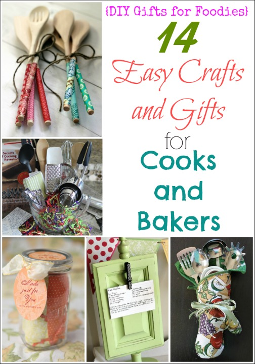 14 Easy Crafts And Gifts For Cooks And Bakers Diy Gifts