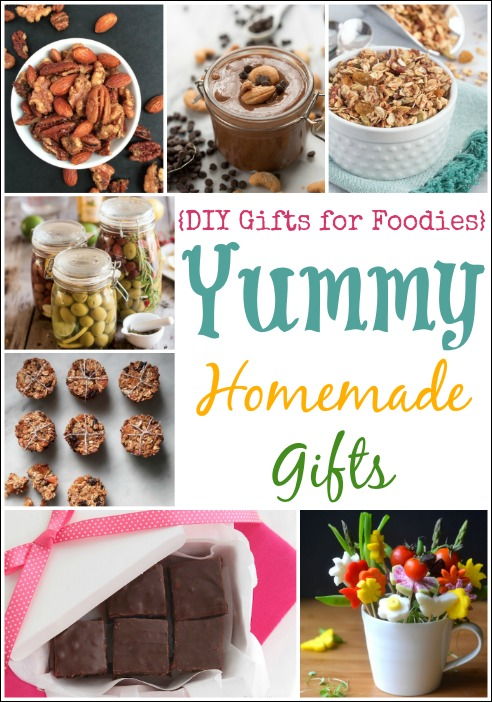 Yummy Homemade Gifts {DIY Gifts for Foodies} {Two Healthy Kitchens}