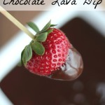 3-Ingredient Chocolate Lava Dip