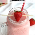 Classic Strawberry Banana Smoothie